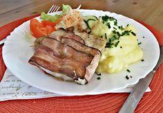 Recept : Celerová remuláda podle Jamieho Olivera | ReceptyOnLine.cz - kuchařka, recepty a inspirace Mashed Potatoes, Steak, Pork, Ethnic Recipes, Whipped Potatoes, Kale Stir Fry, Smash Potatoes, Steaks, Pork Chops