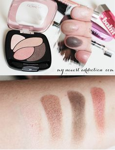 L'Oreal Colour Riche Eye Shadow Quad in Rose Nude