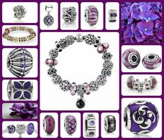 Purple Pandora - choices, choices for the artistic and creative sort who love purple