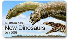 Australian dinosaurs found in outback QLD
