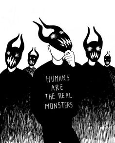 Quotes Deep Thoughts Truths Sad Ideas For 2019 Real Monsters, Dark Quotes, Deep Thoughts, Life Thoughts, Dark Art, Cool Art, Character Design, Sketches, Feelings