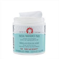 First Aid Facial Radiance Pads
