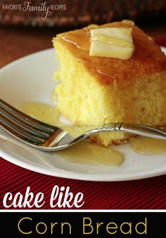 This corn bread is basically a dessert. It is so sweet and moist...click to find out our secret!