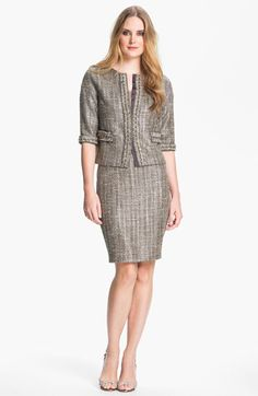 St. John Collection Tweed Jacket available at #Nordstrom