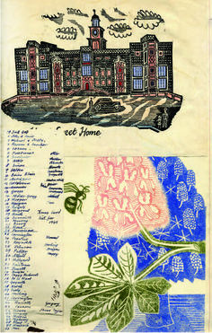 The Fry Art Gallery Online Edward bawden scrapbook Agatha Christie, English Artists, British Artists, British Books, Book Posters, Royal College Of Art, Online Art Gallery, Easy Drawings, Scrapbooks