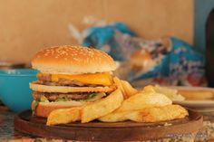 Big Mac hecha en casa!! (FotoReceta) - Taringa!