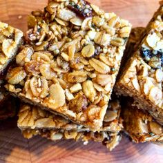 These Sweet Cranberry and Blueberry Hemp Bars are the quintessential snack for a hike. #vegan #sugarfree #glutenfree