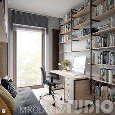 gabinet-loft - zdjęcie od MIKOŁAJSKAstudio - Gabinet - Styl Industrialny - MIKOŁAJSKAstudio
