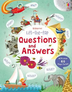 """Lift-the-flap questions and answers"" at Usborne Children's Books"
