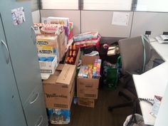 The efforts of Stepper Custom Homes and some of our trades to help out with flood relief through donations to the Calgary Interfaith Food Bank!