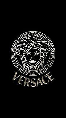 Lot 5 Versace Medusa Metallic Stickers Logo Emblem label decal vinyl pegatina | eBay