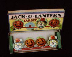 Awesome vintage Jack O Lantern Target game.