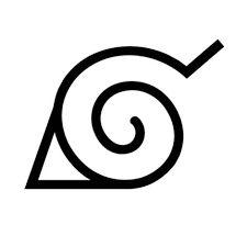 Naruto Leaf Village Konoha | Geek Logos | Pinterest | Naruto ...