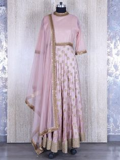 This product available only at  G3+ Sutaria, Ghoddod Road Store Shop Pretty Pink Silk Designer Salwar Suit By G3+ Video Shopping