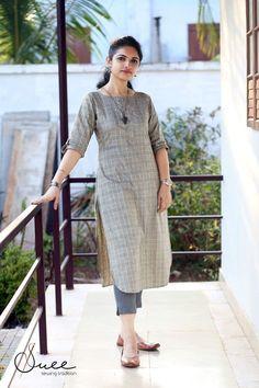 New Image : Salwar designs Salwar Designs, Simple Kurti Designs, Kurta Designs Women, Kurti Designs Party Wear, Latest Kurti Designs, Kurti Sleeves Design, Kurta Neck Design, Kurta Style, Designs For Dresses