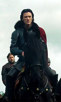 Luke Evans in Dracula Untold, 2014.
