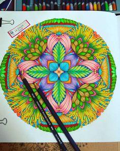 04.04.16 Book: Tropical Wonderland by Millie Marotta - #adultcoloringbook…