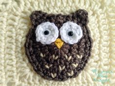 Woodland Owl Granny Square - Woodland Afghan Series - Maria's Blue Crayon