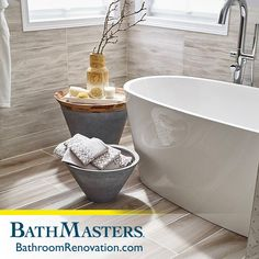 Isn't it about time you kicked your feet up and relaxed? Design your dream bathroom with a little help from your friends at BathMasters!