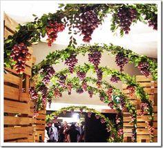 decoração festa da uva - Pesquisa Google