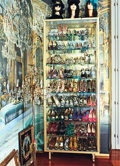 GIRL GONE WILD  To mark the launch of her H collection, Anna Dello Russo, the unofficial accessories queen, opens her drawers.