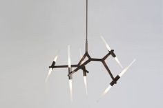 Agnes Chandelier - 10 Bulbs by Lindsey Adams Adelman for Roll & Hill | Space Furniture