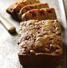 Spiced Butternut and Cranberry Quick Bread - Cape Cod LIFE Publications