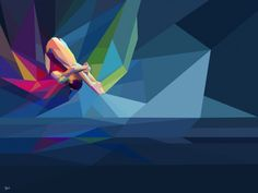 Fantásticas ilustrações com temática olímpica! ♥