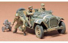 Russian Fieldcar Kit by Tamiya Tamiya Model Kits, Tamiya Models, Plastic Model Kits, Plastic Models, Army Men Toys, Military Modelling, Military Diorama, Radio Control, Scale Models
