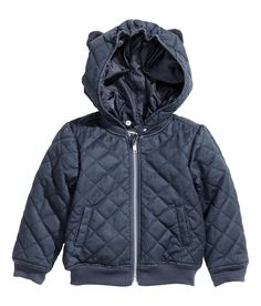 H&M - Quilted bomber jacket