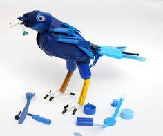 Find, Make, Do-- work of Sydney artist Jane Gillings.  Wonderful information about her work