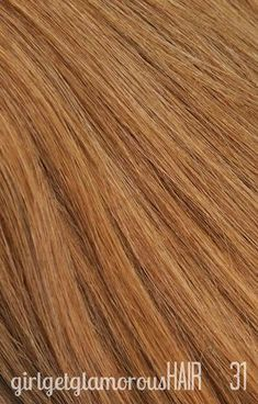 Shade 31 | Dark Strawberry Blonde Remy Hair Extensions