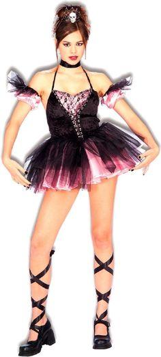 Dark Ballerina Teen Costume  Product #: WC160428
