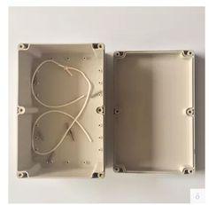 Plastic waterproof box ABS long 230*150*87mm plastic instrument box six screws fixed