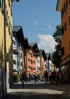 "This is Kitzbuehel, Tyrol. Uniquely situated in the ""airport triangle"" of Munich, Salzburg and Innsbruck"