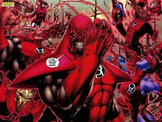 Red Lantern Corps from The Green lantern comics
