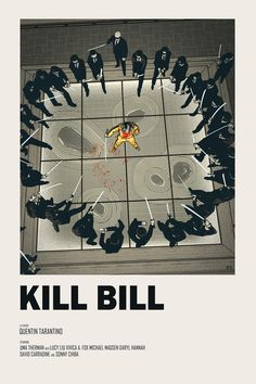 Kill Bill alternative movie poster - 2018 Regular Edition available HERE Limited Edition Variant available HERE Friday Jan 26