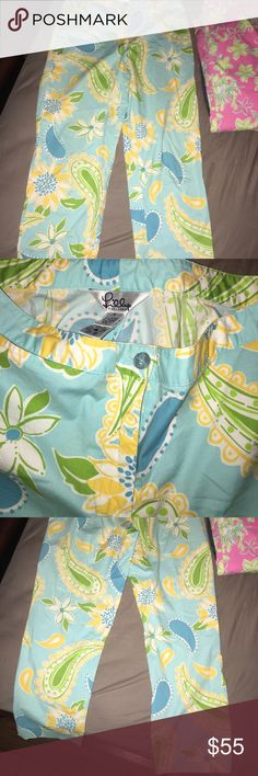 Blue Lilly putilizer Like new Lilly Pulitzer Pants
