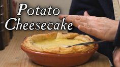 Historical Cheesecake with No Cheese - 18th Century Cooking