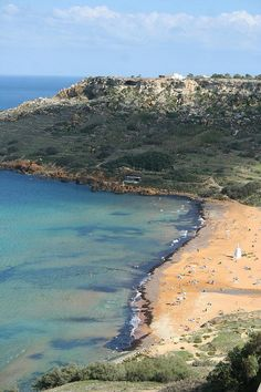 Ramla Bay Beach and Calypso Cave in Gozo  │ #gozo gozovillarentals.com