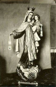 virgen del carmen .. Jesus de Perceval.. iglesia San Roque