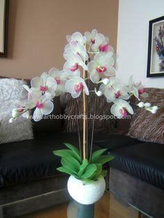 Phalaenopsis orchid -Stocking | Art Hobby Crafts