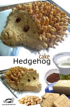 A Hedgehog Cake
