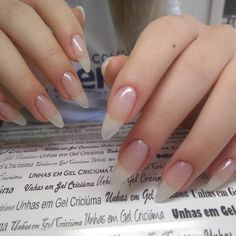 Want to know how to do gel nails at home? Learn the fundamentals with our DIY tutorial that will guide you step by step to professional salon quality nails. Cute Nails, Pretty Nails, My Nails, Uñas Diy, Long Natural Nails, Nagellack Trends, Gel Nails At Home, Nail Polish, Best Acrylic Nails