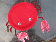 Mega•Crafty: MSCE April and Kids Craft Week: Paper Plate Sea Creatures