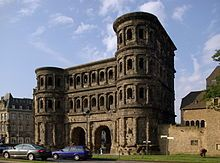 Trier Porta Nigra-Vista da Nord