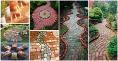 I will definitely implement some of them, but let me draw your inspiration by presenting you this exquisite collection of 20 + Amazing Brick Pathways That Will Add Charm To Your Garden.