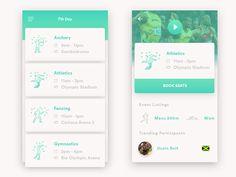 Fundamental Concepts of List UI Design for Mobile Apps Web Design, App Ui Design, Interface Design, Flat Design, Graphic Design, Mobile App Design, Mobile Ui, Business Card Design Inspiration, App Design Inspiration