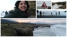 Watch Out for the Waves!! Cathedral Beach - Galicia