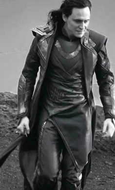 Tom Hiddleston/Loki - (gif) His hair, his dagger, his LEGS! Everything about this gif is a masterpiece.